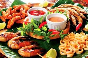 cozinha Frutos-do-Mar